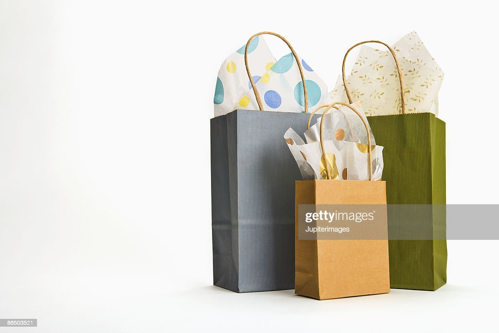 Gift bags stock photo getty images gift bags stock photo negle Image collections