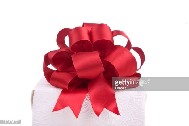 gift bow (with clipping path! (xl) - tied bow stock pictures, royalty-free photos & images