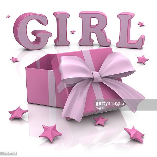 Geschenk-Box für Mädchen