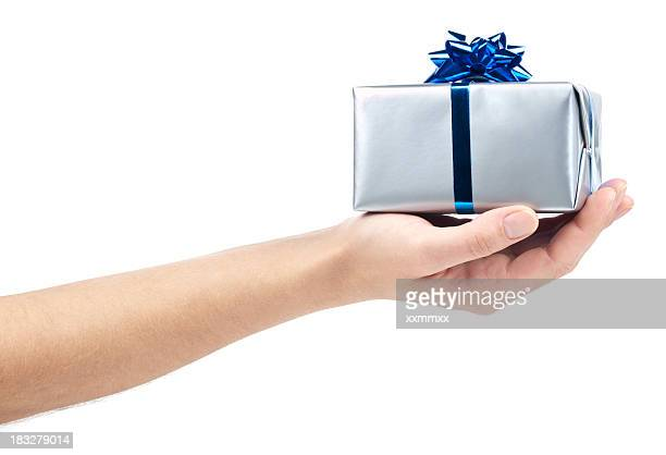 gift box - giving stock photos and pictures