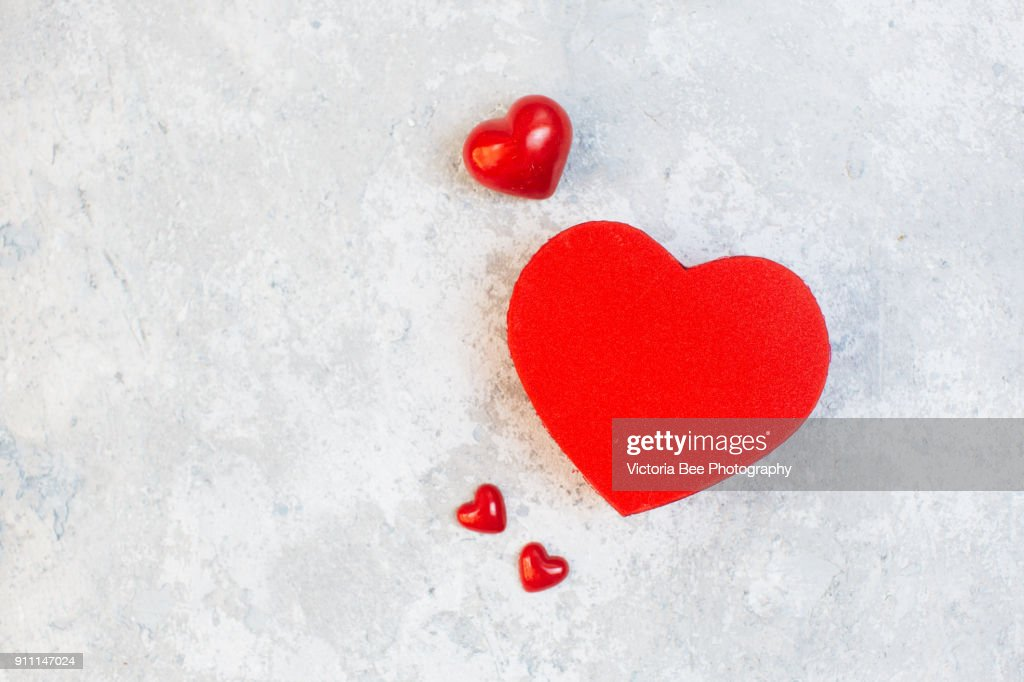 Gift box. The concept of the day of St. Valentine's, weddings, birthday, : Stock Photo
