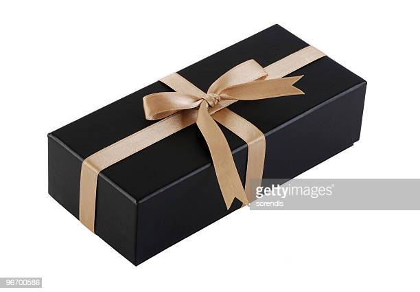 gift box with clipping path - rectangle stock pictures, royalty-free photos & images