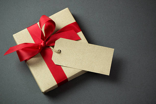 Free gift box images pictures and royalty free stock photos gift box with empty tag negle Choice Image