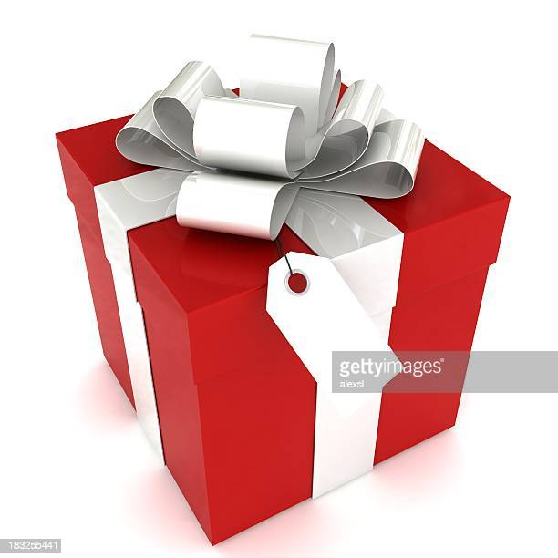 Gift Box with Tag