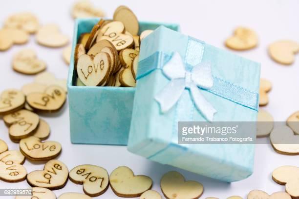 Gift boxes full of love