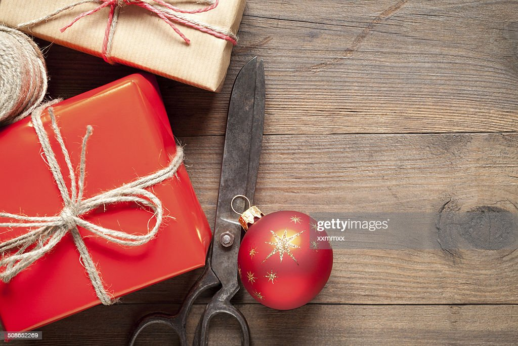 Gift boxes : Stock Photo