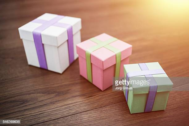 Several gift boxes several gifts getty images gift boxes negle Image collections