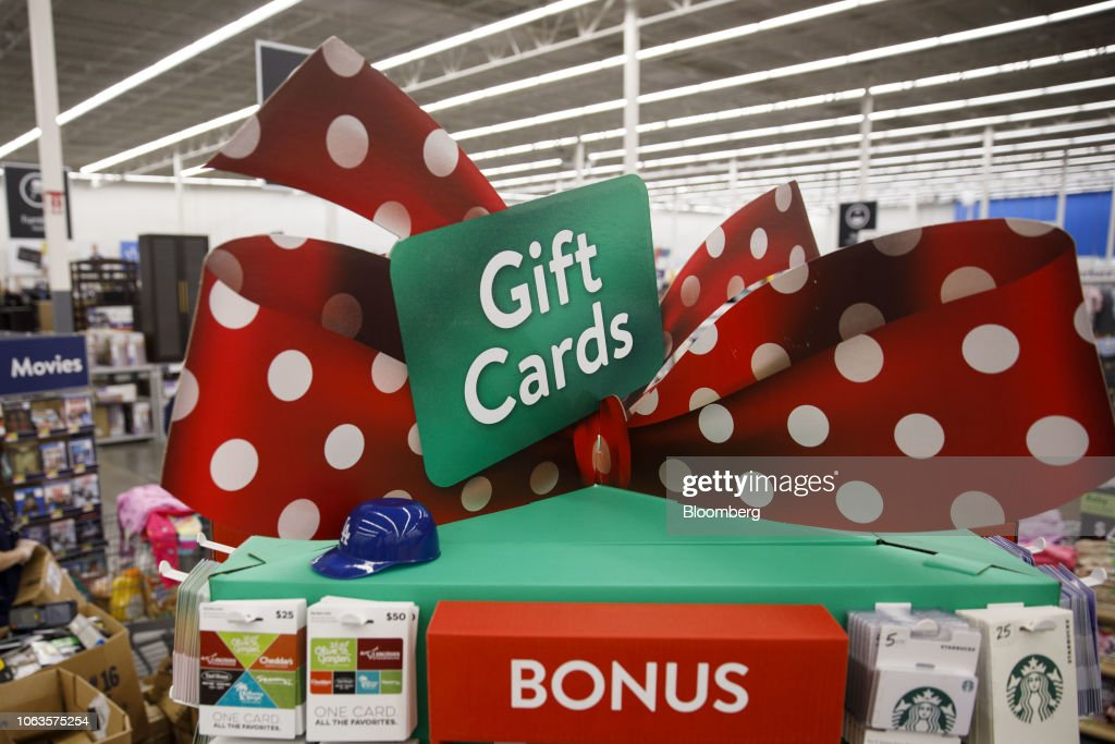 Inside A Wal-Mart Stores Inc. Location Ahead Of Black Friday : News Photo