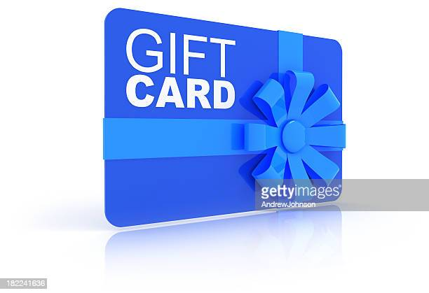 gift card - gift card stock photos and pictures