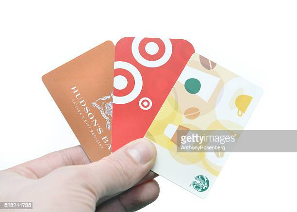 gift cards - gift card stock photos and pictures