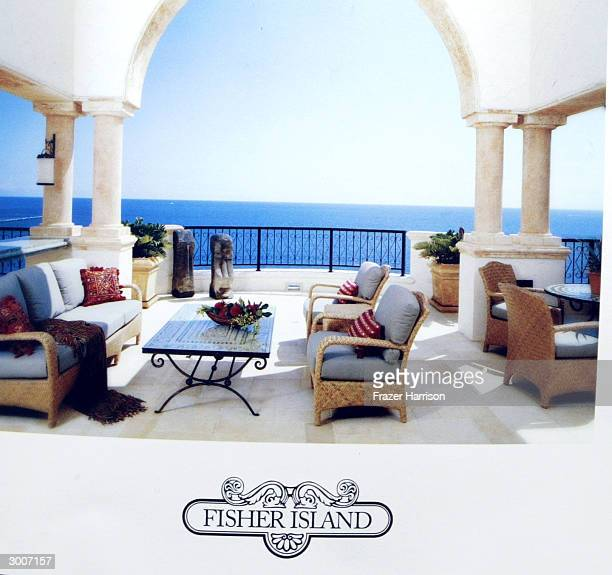 A gift certificate for a private island getaway on Fisher Island just one of tje few of the gifts selected for inclusion in the prestigious 2004...