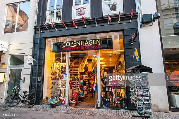 gift shop in copenhagen, denmark - danish culture stock pictures, royalty-free photos & images
