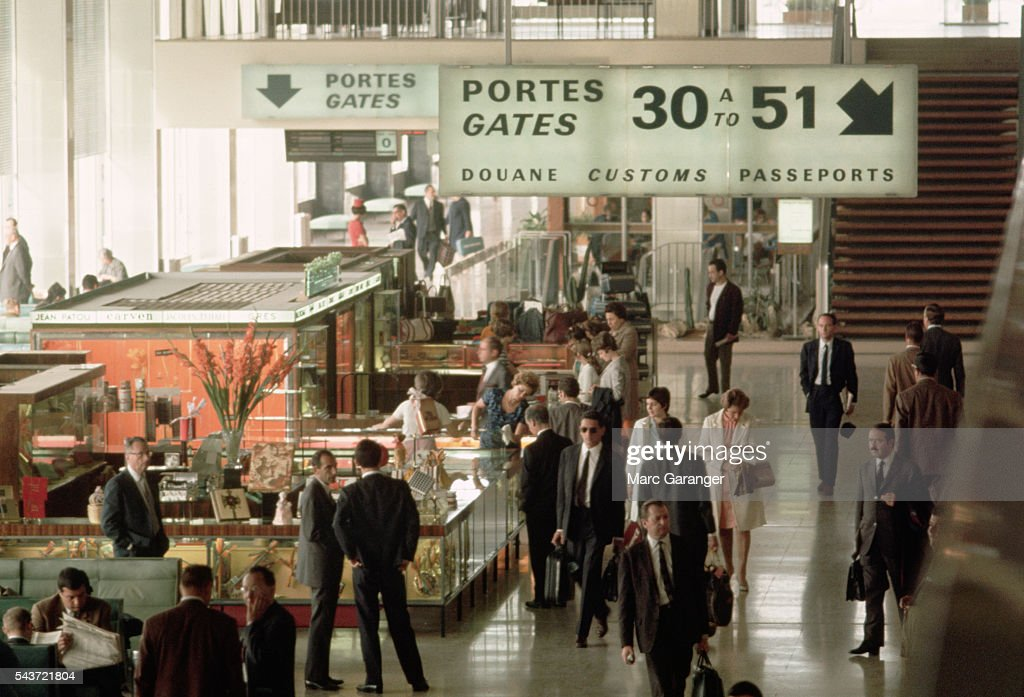 Gift shops at orly airport pictures getty images gift shops attract browsers in a crowded passenger lounge at orly airport negle Images