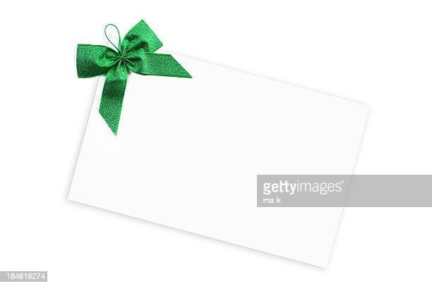 cartellino di regalo - prezzo messaggio foto e immagini stock