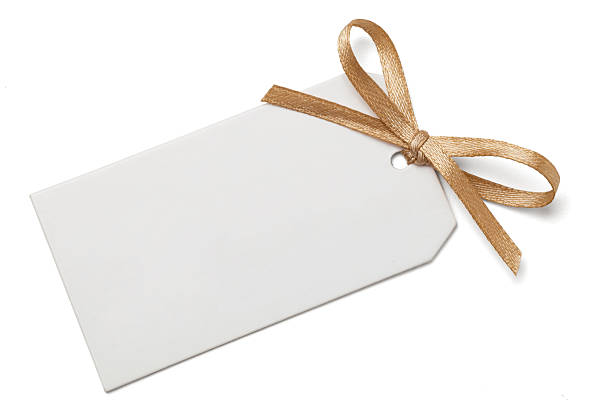 Free gold ribbon images pictures and royalty free stock photos gift tag with bow negle Choice Image