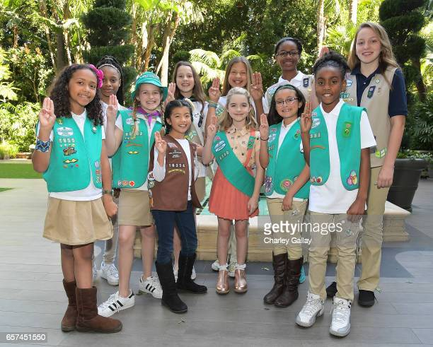 Gifted star Mckenna Grace gushed I've always wanted to be a Girl Scout during a ceremony today where she joined the organization on March 24 2017 in...