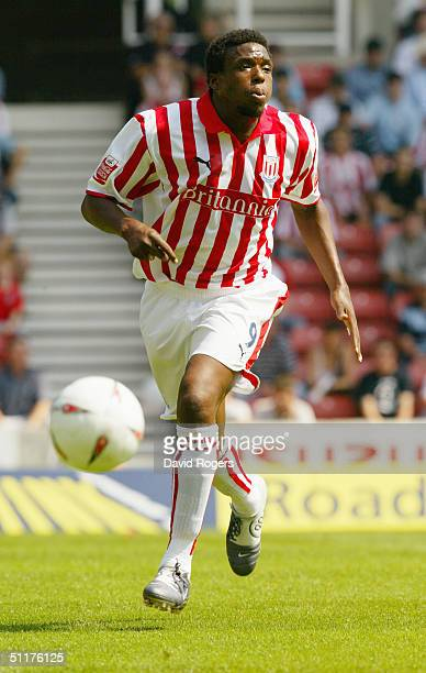 Gifton Noel-Williams of Stoke City in action during the Coca-Cola Football League Championship match between Stoke City and Wolverhampton Wanderers...
