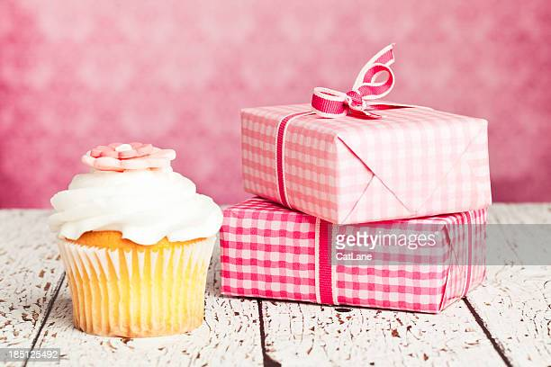 Gifts and Cupcake
