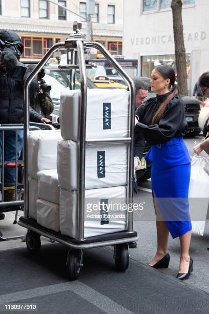Gifts arrive at Meghan Markle's baby shower on February 20 2019 in New York City