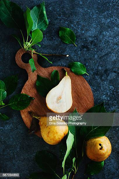 Gifts of autumn (with pears)