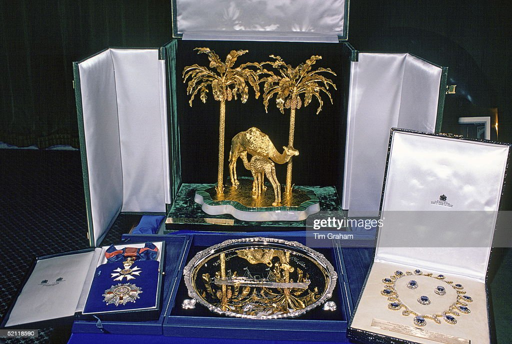 Gifts For Queen In Dubai : News Photo