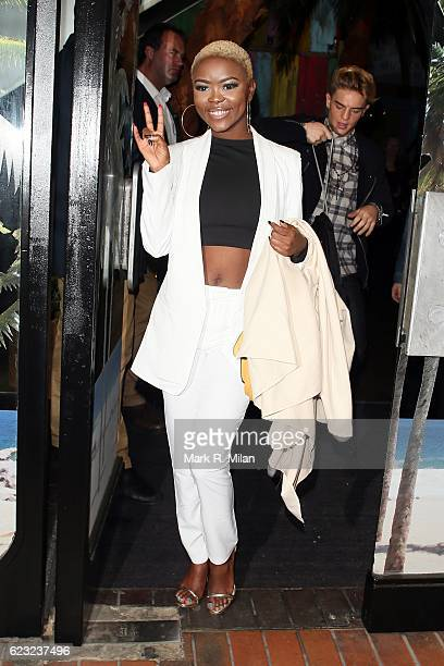 Gifty Louise attending the School of Rock the musical VIP press night on November 14, 2016 in London, England.