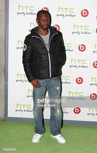 Giggs arrives at the launch of HTC Sensation XL with Beats Audio TM at The Roundhouse on October 6, 2011 in London, England.