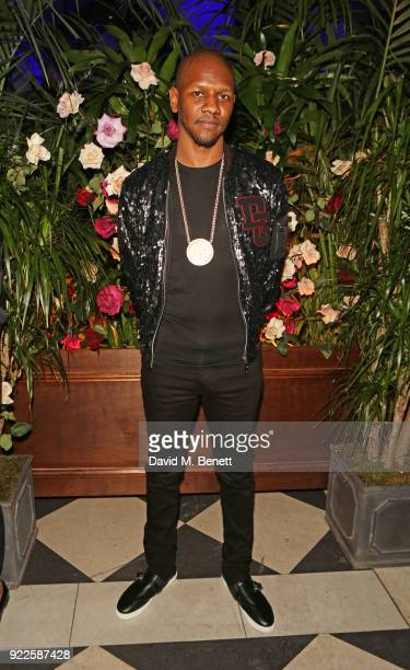 Giggs attends the Universal Music BRIT Awards After-Party 2018 hosted by Soho House and Bacardi at The Ned on February 21, 2018 in London, England.