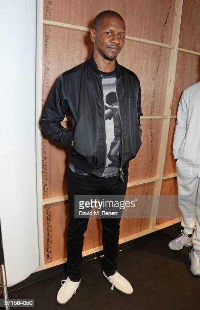 Giggs attends the What We Wear show during London Fashion Week Men's June 2018 at the BFC Show Space on June 11 2018 in London England