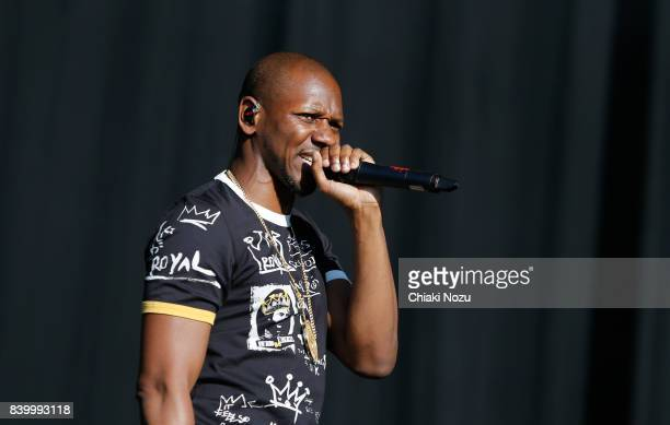 Giggs performs at Reading Festival at Richfield Avenue on August 27, 2017 in Reading, England.