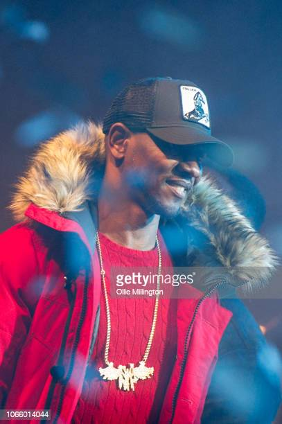 Giggs performs onstage during the different cloth part II tour at O2 Forum Kentish Town on November 27, 2018 in London, England.