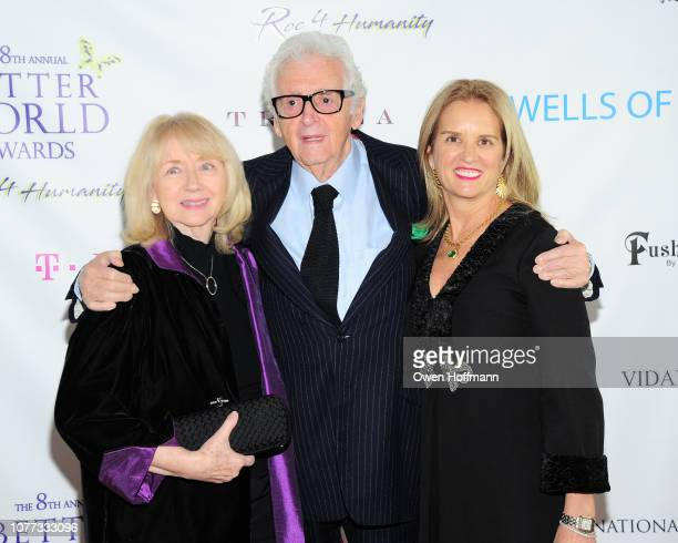 Gigi Benson Harry Benson and Kerry Kennedy attend Wells Of Life Charity Benefits At The 8th Annual Better World Awards Event Roc4Humanity at The Loeb...