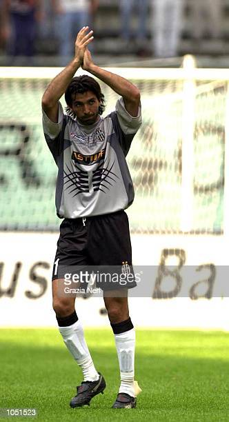 26 AUG 2001 Gigi Buffon of Juventus after the Serie A 1st round game between Juventus and Venezia played at Delle Alpi Stadium in Turin NERI DIGITAL...