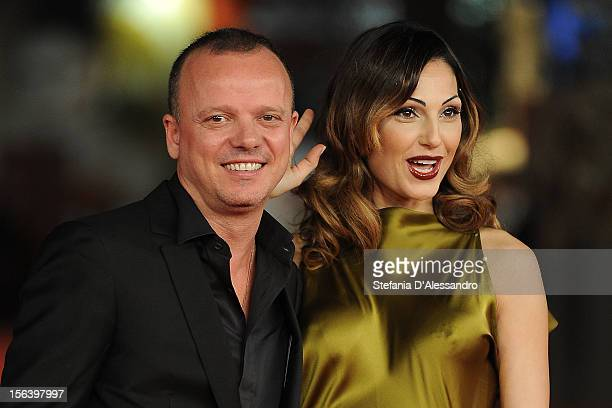 Gigi D'Alessio and Anna Tatangelo attend 'E La Chiamano Estate' Premiere at Auditorium Parco Della Musica on November 14 2012 in Rome Italy