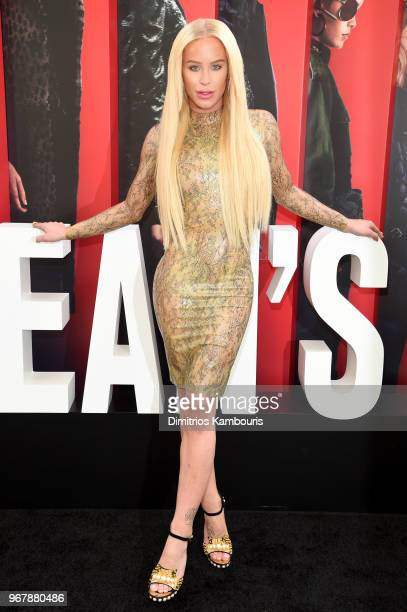 Gigi Georgeus attends the 'Ocean's 8' World Premiere at Alice Tully Hall on June 5 2018 in New York City