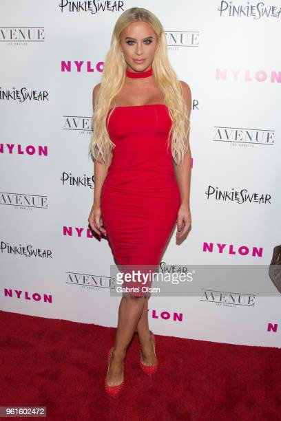 Gigi Gorgeous arrives for NYLON Hosts Annual Young Hollywood Party at Avenue on May 22 2018 in Los Angeles California