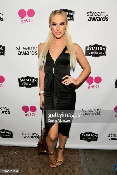 Gigi Gorgeous at go90 Streamys After Party at Poppy on September 26 2017 in Los Angeles California