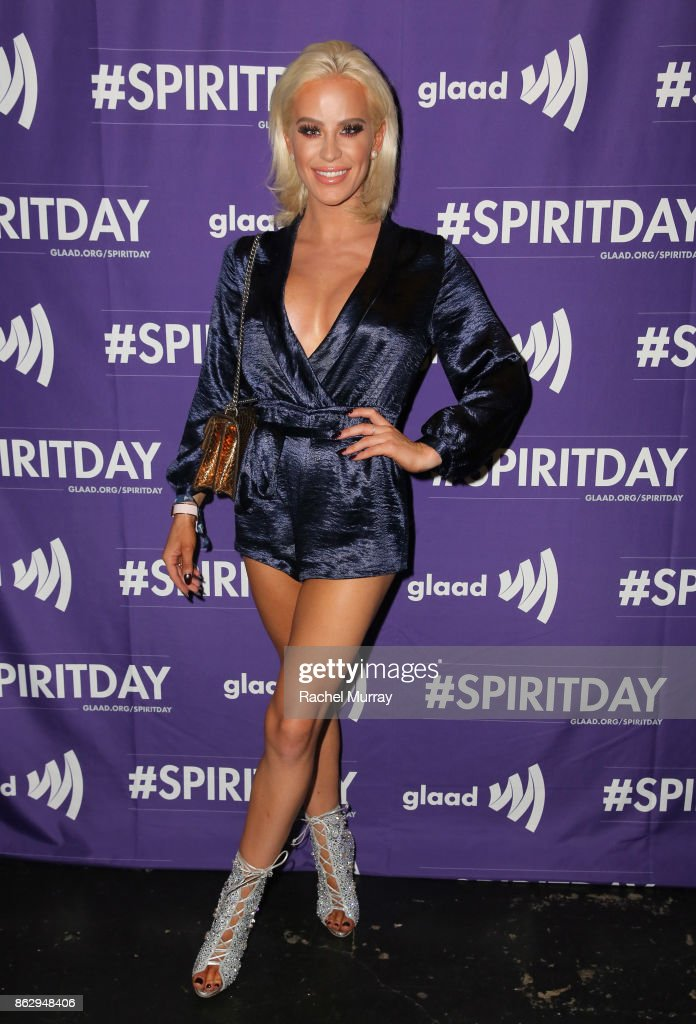 Gigi Gorgeous at Justin Tranter And GLAAD Present 'Believer' Spirit Day Concert at Sayer's Club on October 18, 2017 in Los Angeles, California.