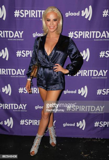 Gigi Gorgeous at Justin Tranter And GLAAD Present 'Believer' Spirit Day Concert at Sayer's Club on October 18 2017 in Los Angeles California