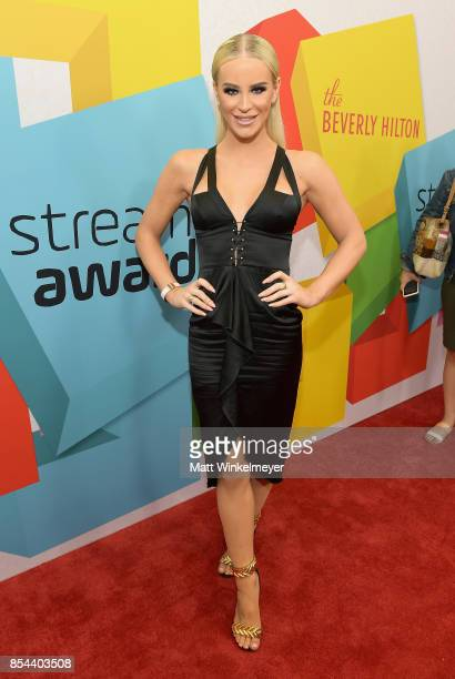 Gigi Gorgeous at the 2017 Streamy Awards at The Beverly Hilton Hotel on September 26 2017 in Beverly Hills California