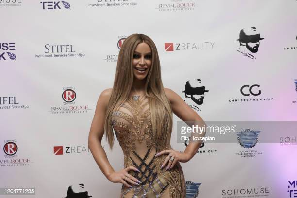 Gigi Gorgeous at the LA Launch Event Of SohoMuse at Christopher Guy West Hollywood Showroom on February 07 2020 in West Hollywood California