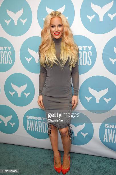 Gigi Gorgeous attends 9th Annual Shorty Awards at PlayStation Theater on April 23 2017 in New York City