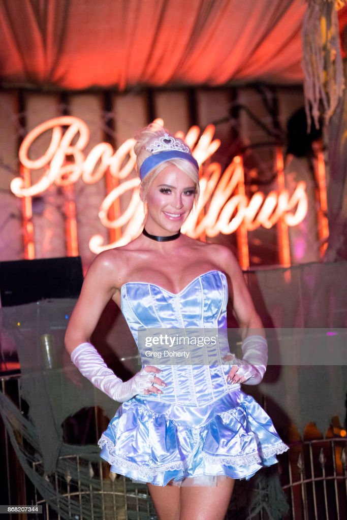 Gigi Gorgeous attends her Haunted 'Carn-Evil For Good' Halloween Bash Benefiting Transyouth Health and Development at Children's Hospital Los Angeles at Bootsy Bellows on October 29, 2017 in West Hollywood, California.