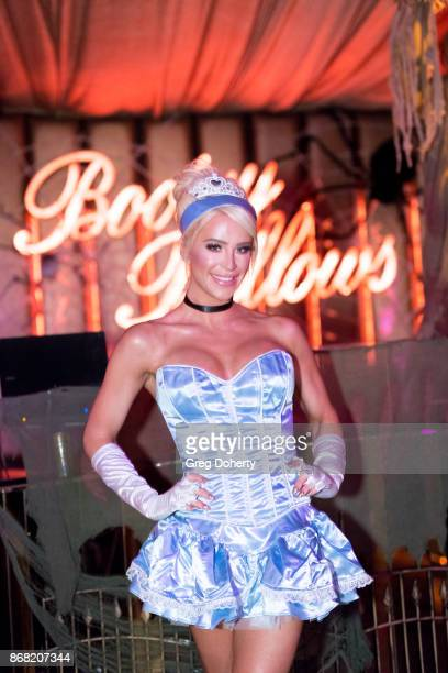 Gigi Gorgeous attends her Haunted 'CarnEvil For Good' Halloween Bash Benefiting Transyouth Health and Development at Children's Hospital Los Angeles...