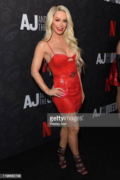 Gigi Gorgeous attends premiere of Netflix's AJ And The Queen season 1 at the Egyptian Theatre on January 09 2020 in Hollywood California