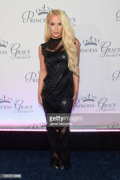 Gigi Gorgeous attends the 2018 Princess Grace Awards Gala at Cipriani 25 Broadway on October 16 2018 in New York City