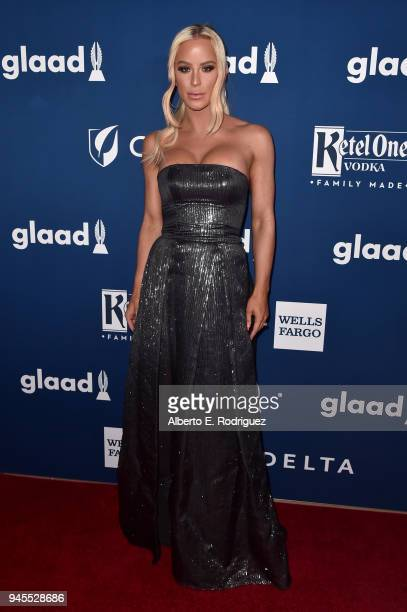 Gigi Gorgeous attends the 29th Annual GLAAD Media Awards at The Beverly Hilton Hotel on April 12 2018 in Beverly Hills California