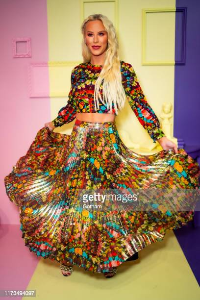 Gigi Gorgeous attends the Alice + Olivia by Stacey Bendet presentation during New York Fashion Week: The Shows at Root Studio on September 09, 2019...
