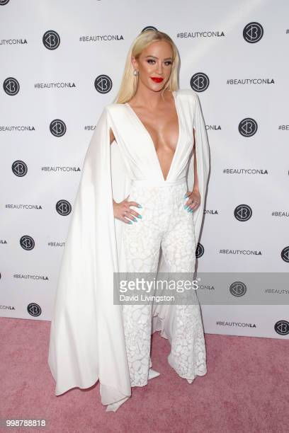 Gigi Gorgeous attends the Beautycon Festival LA 2018 at the Los Angeles Convention Center on July 14 2018 in Los Angeles California