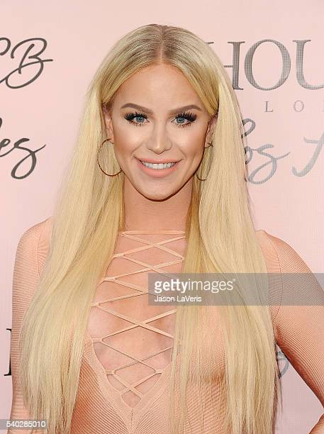 Gigi Gorgeous attends the House of CB flagship store launch at House Of CB on June 14 2016 in West Hollywood California